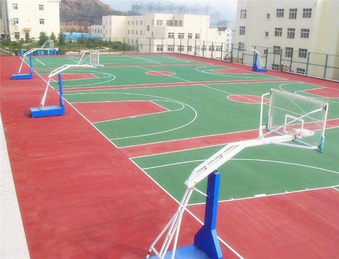 篮球场地地坪