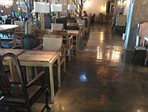 芜湖市银泰城漫咖啡 复古地坪案例